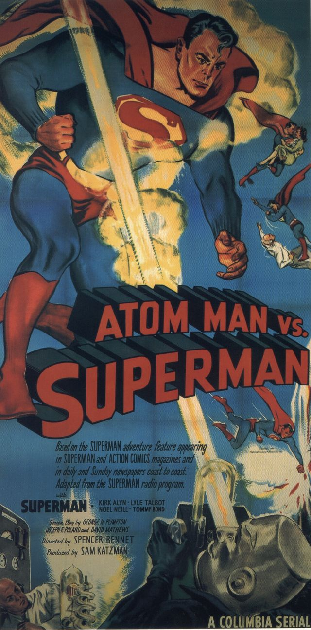 Affiche du film Atom Man vs. Superman (1950)
