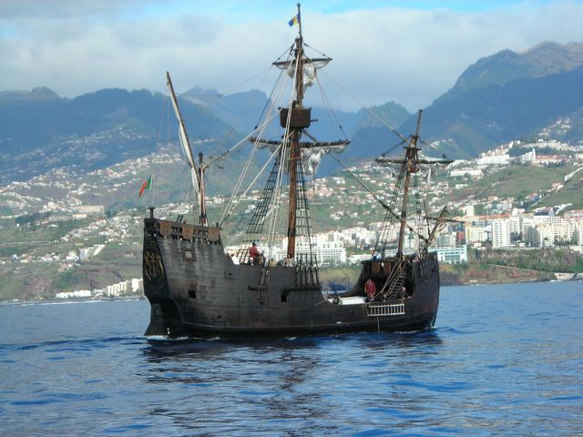 Santa Maria, la caravelle de Cristophe Colomb