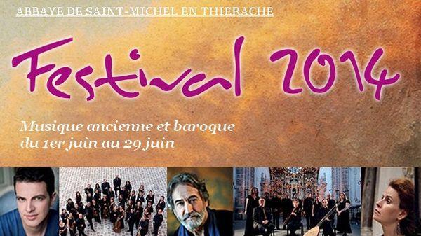 Festival de musique ancienne et baroque à l'abbaye de Saint-Michel en Thiérache