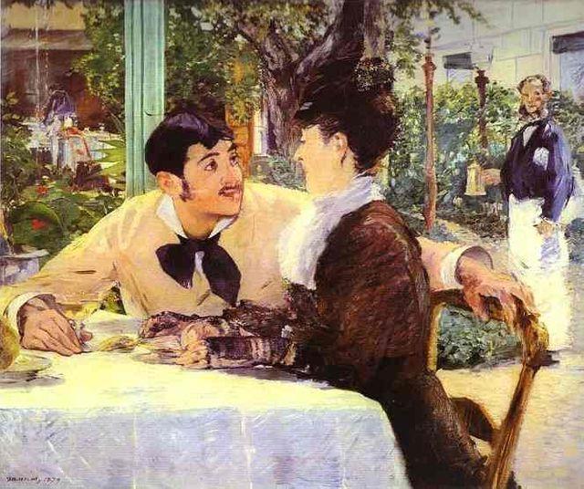 Edouard Manet Père Lathuile 1879