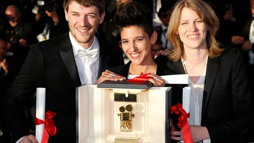 Caméra d'or Samuel Theis, Claire Burger and Marie Amachoukeli