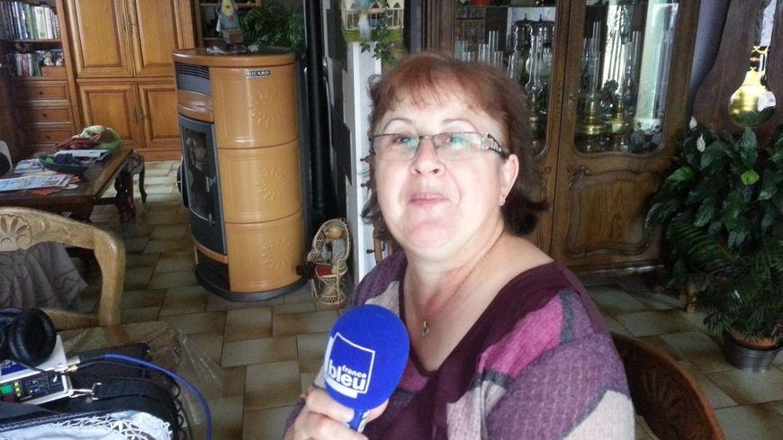 Marie France à Ronchamp