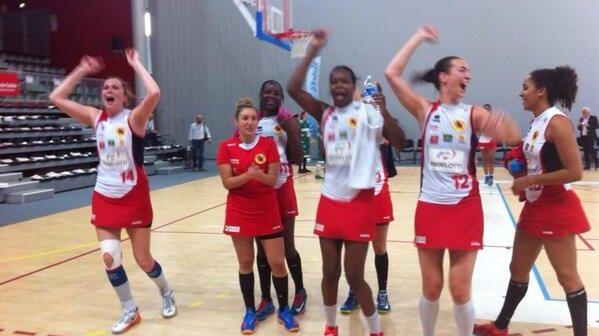 Les filles du Perpignan Basket championnes de France !