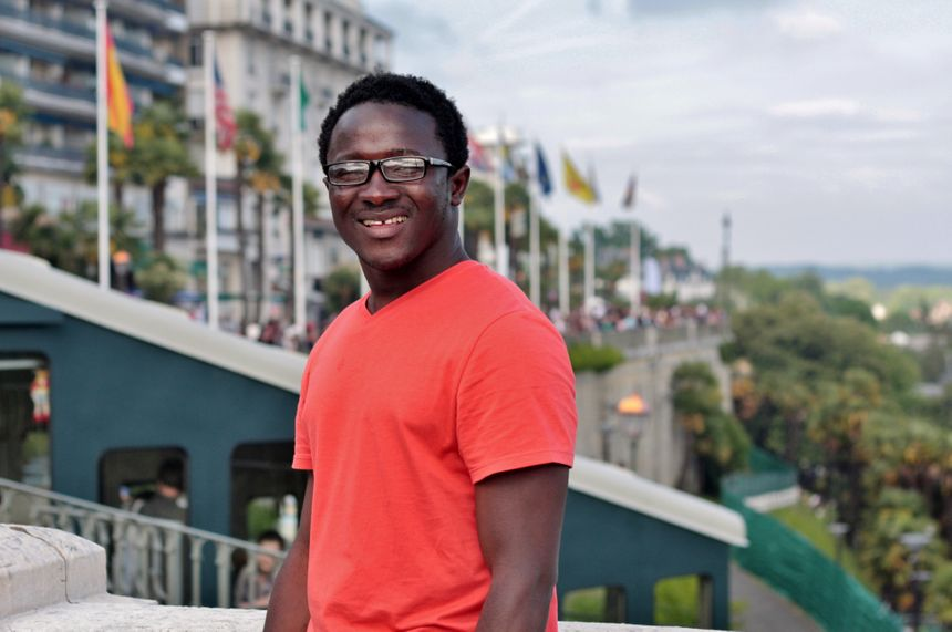 Bamba Touré au Grand Prix de Pau