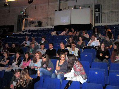 Les lycéens du Lycée Pasteur
