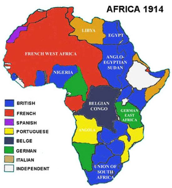 Borders: The Scramble for Africa
