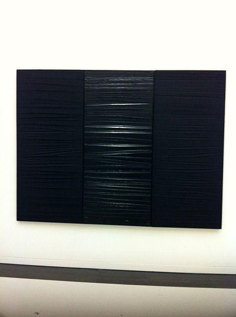 une toile de Pierre Soulages