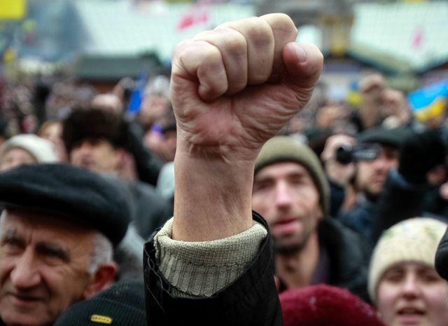 L'Ukraine le 12 janvier