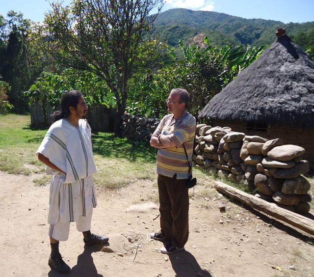 J.P Minaudier en Colombie le jour de la fin du monde maya