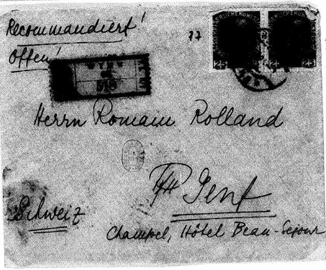 Lettre Zweig Rolland 3