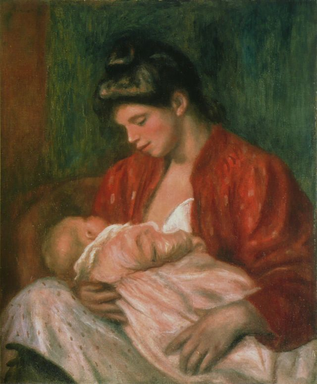 Pierre-Auguste Renoir - La Jeune Mère