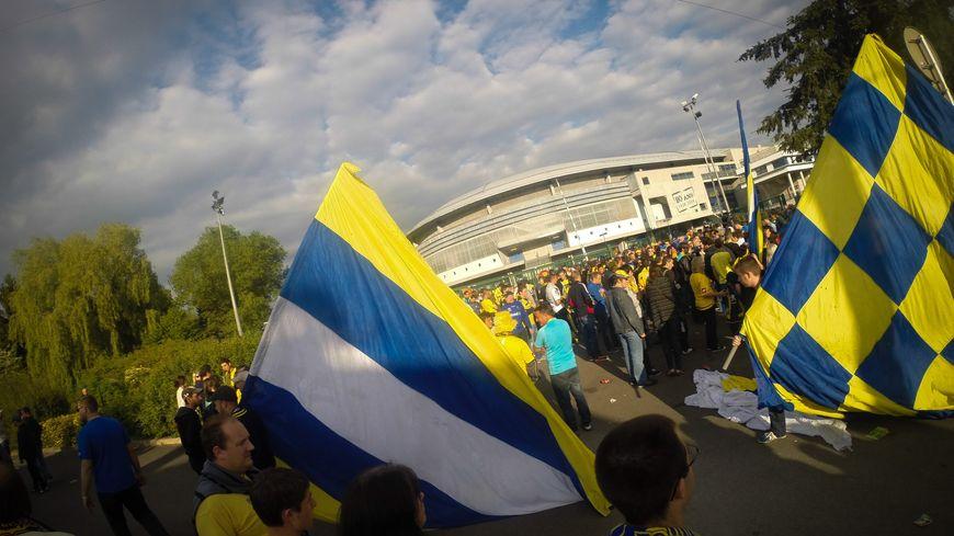 les supporters sochaliens avant FSCM - ETG
