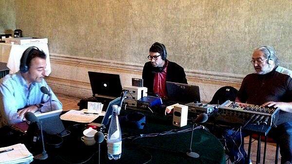 Marc Voinchet et son équipe en direct de la Villa Médicis à Rome