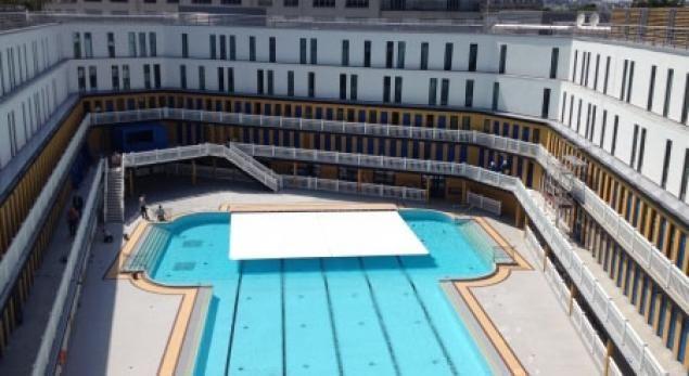 La réouverture de la piscine Molitor à Paris