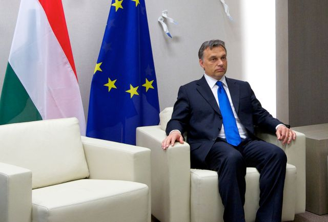 Viktor Orbán, Premier ministre hongrois depuis 2010, entretient des relations houleuses avec ses homologues européens