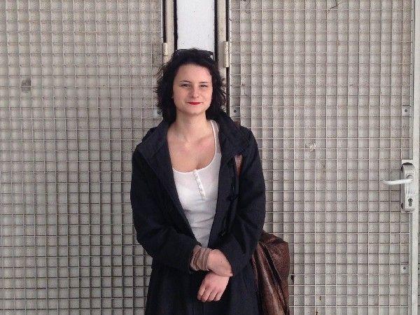 Yamila, étudiante en philo