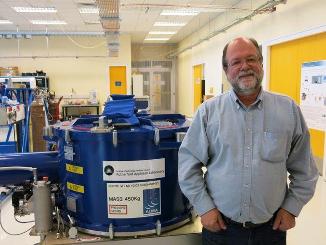 lars HAKE Nyman, responsable des opérations scientifiques d'ALMA