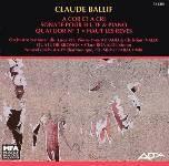 Pochette - C. Ballif - A cors et a cris - ADDA 581283