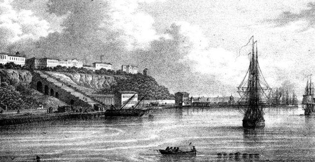 Port d'Odessa dans les années 1850