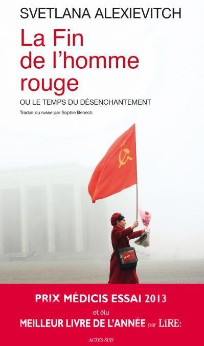 """Livre """"La fin de l'homme rouge"""""""