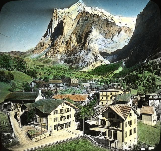 Le Wetternhorn vu de Grindelwald