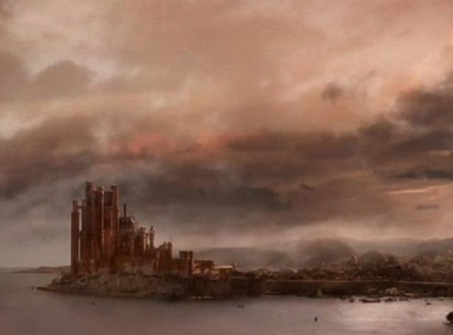 King's Landing, la capitale de Game of Thrones