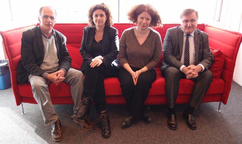 Martin Andler, Pascale Laborier, Liora Israël et Laurent Batsch