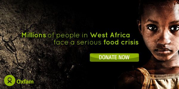 Oxfam West Africa Appeal