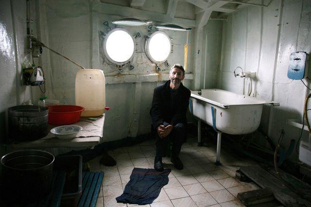 Hasan à bord du Nemesis, Istanbul 2010