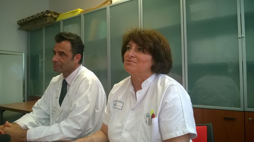 Pr Carole ICHAI Patrick BAQUE CHU Nice