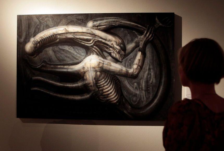 Necronom IV, le tableau qui a inspiré la créature d'Alien