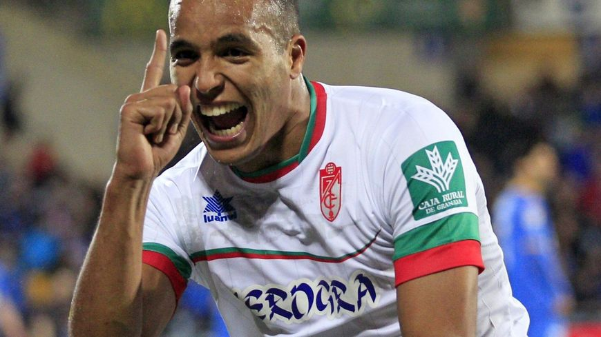 Foot Caen Youssef El Arabi sous le maillot de Grenade
