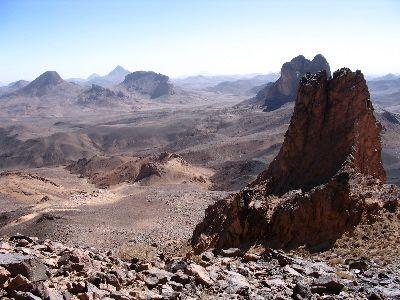 Massif du Hoggar en Algérie