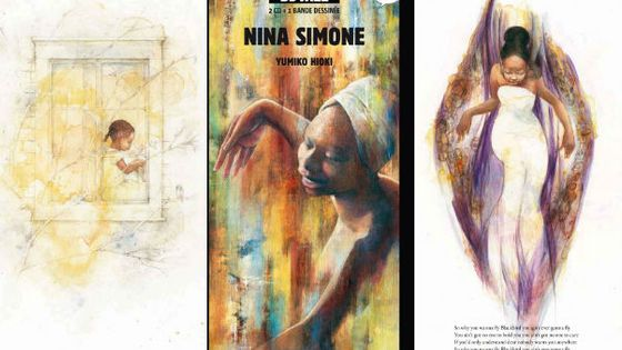Photo - Montage BD Nina Simone