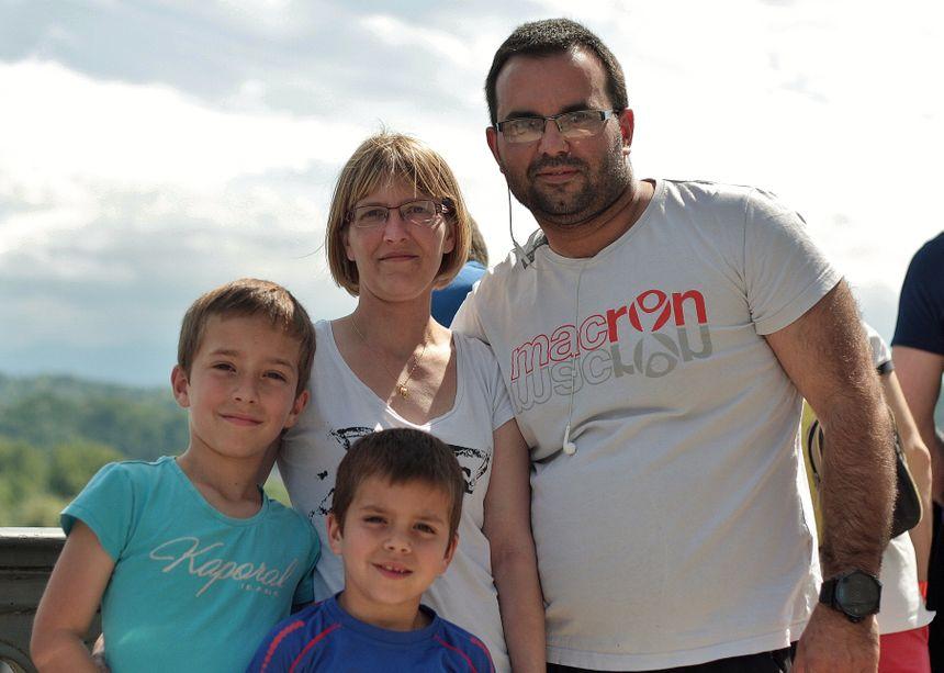 La famille Matheou au Grand Prix de Pau