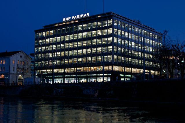 Siège de BNP Paribas à Genève