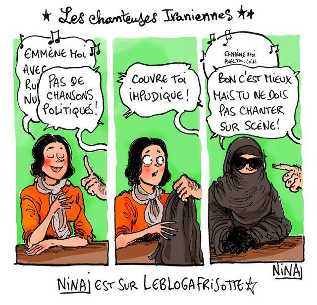 Le dessin du jour de Nina Luec