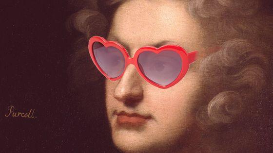 purcell à lunettes en coeur mea 603 380
