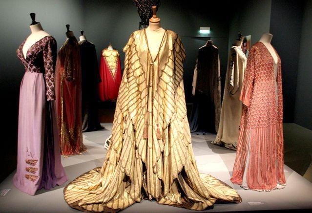 Robes de Cléopâtre costumes de cinéma
