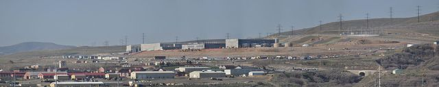 Utah Data Center Panorama