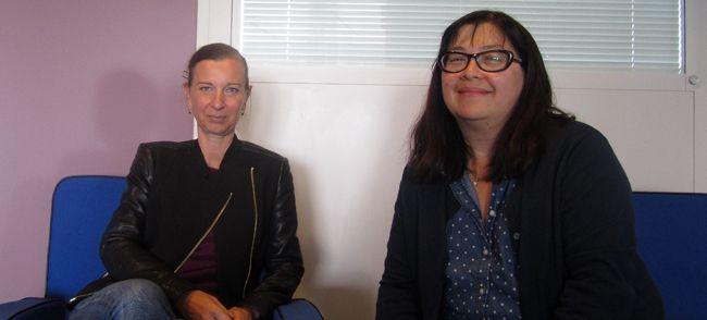 Anne Boulay et Sandra Laugier