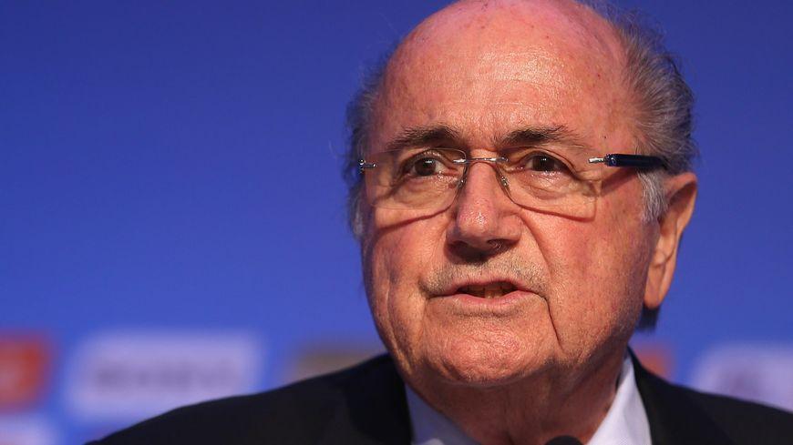 Sepp Blatter, le président de la FIFA