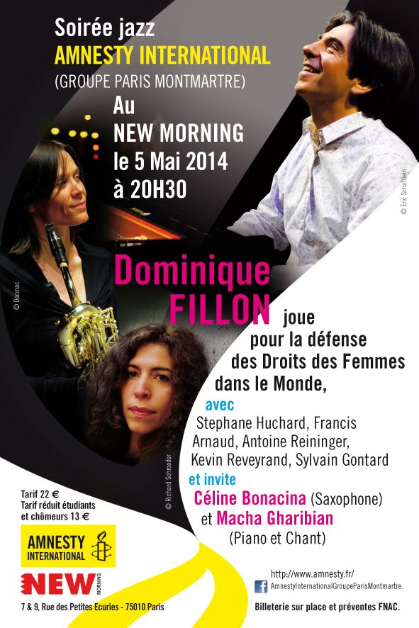 Dominique Fillon New Morning
