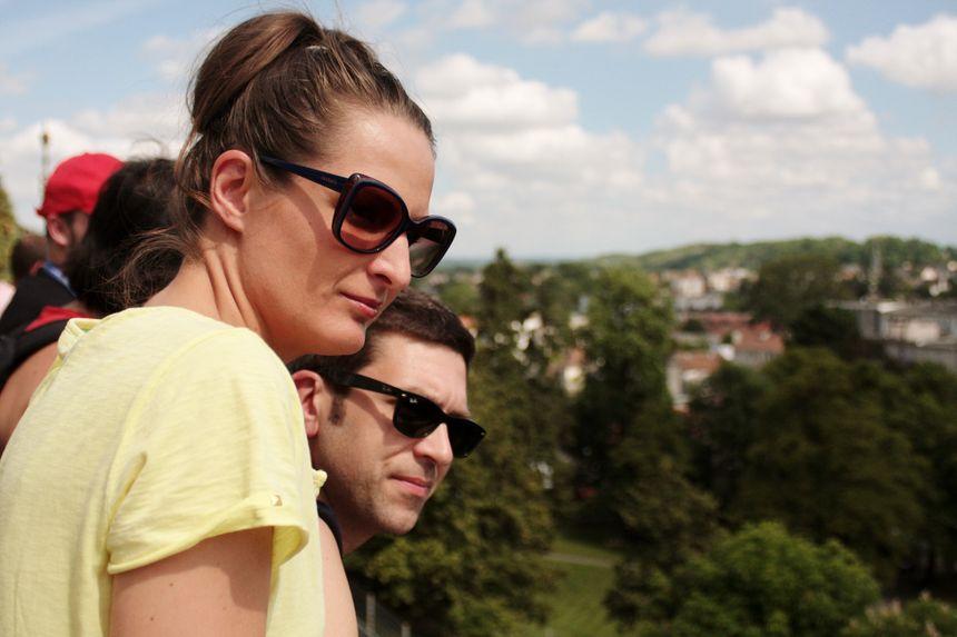 Benoît et sa femme Naylya au Grand Prix de Pau