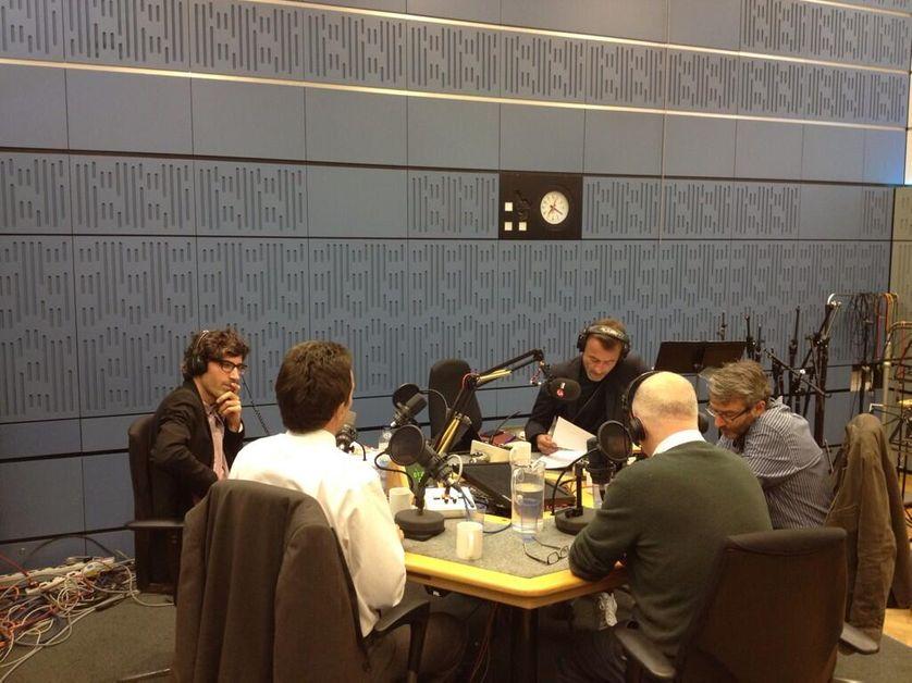 Les Matins en direct de la BBC à Londres