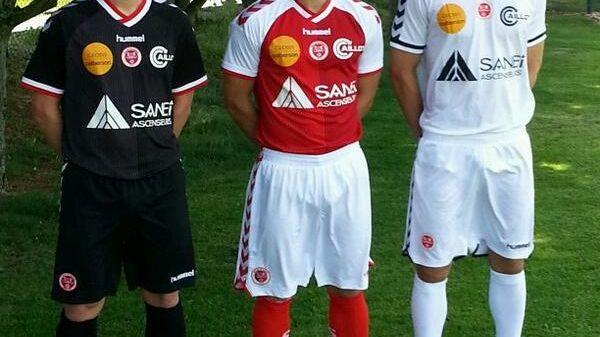 Le nouveau maillot extérieur du Stade de Reims 2014 - 2015