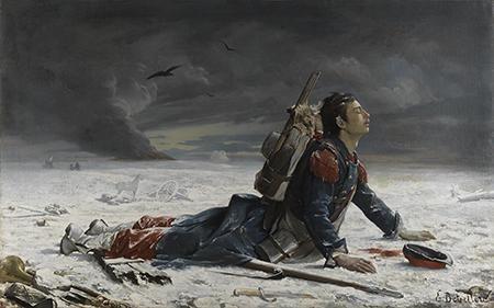 Emile Betsellère (Bayonne, 1846 - Bayonne, 1880), L'Oublié ! - Huile sur toile, 1872