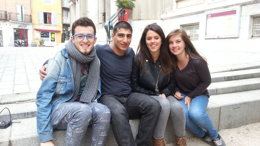 Gor Norsoyan et ses amis du Lycée Vincent d'Indy