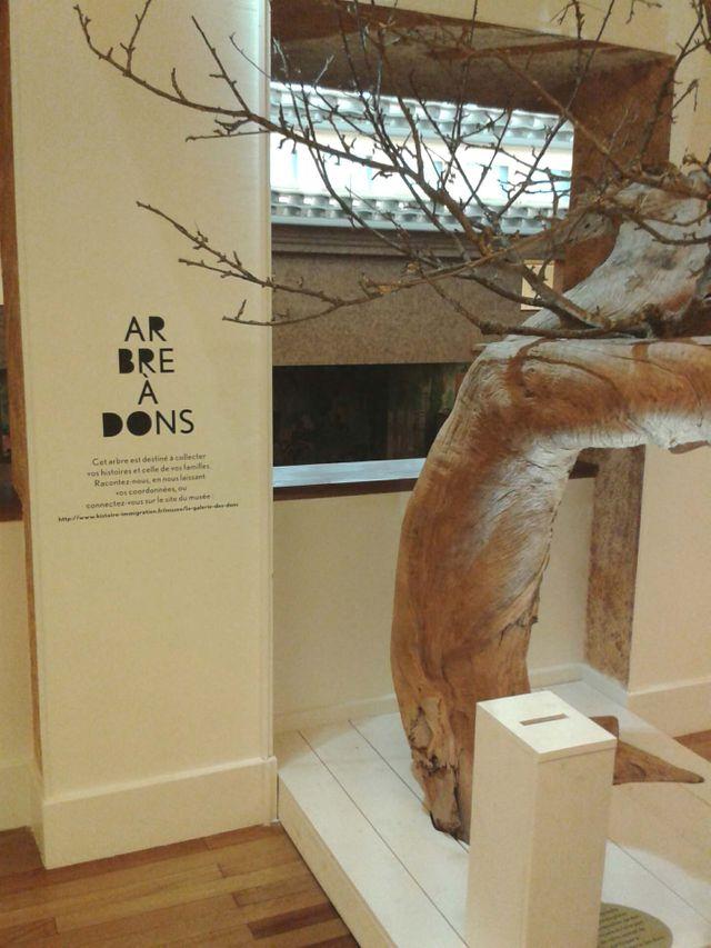 La « Galerie des dons » du musée de l'Histoire de l'immigration