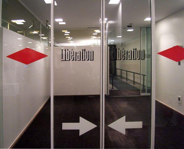 L'entrée de Libé